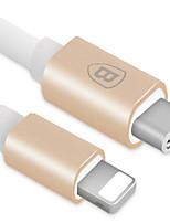 Недорогие -Подсветка Адаптер USB-кабеля Быстрая зарядка Высокая скорость Кабель Назначение iPhone 100cm TPE