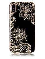 abordables -Coque Pour Apple iPhone X iPhone 8 Ultrafine Coque Fleur Flexible TPU pour iPhone X iPhone 8 Plus iPhone 8 iPhone 7 Plus iPhone 7 iPhone