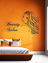 cheap -Wall Decal Decorative Wall Stickers - People Wall Stickers Characters Re-Positionable Removable