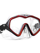 abordables -Masque de Nage Masque de Snorkeling Anti buée Natation Plongée Caoutchouc silicone PVC (Polyvinylchlorid) Verre Trempé - WAVE