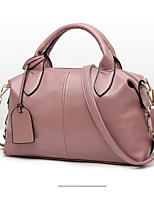 cheap -Women's Bags PU Shoulder Bag Zipper for Event / Party Casual All Seasons Black Blushing Pink Wine