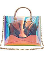 cheap -Women's Bags PC / PU Bag Set 2 Pieces Purse Set Buttons for Event / Party Black / Rainbow