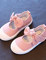 cheap -Girls' Shoes Fabric Spring Fall Comfort Sneakers for Casual Gray Blue Pink