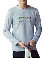 cheap -Men's Active Sweatshirt - Solid Colored