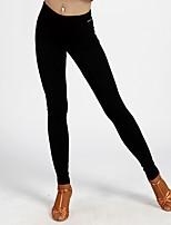 abordables -Danse latine Bas Femme Utilisation Coton cristal Ruché Taille moyenne Pantalon