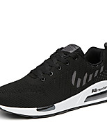 cheap -Men's Shoes Tulle Spring / Summer Comfort Sneakers Black / Red / Blue