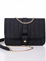 cheap -Women's Bags PU Shoulder Bag Zipper for Casual All Seasons Black Blushing Pink Yellow Khaki