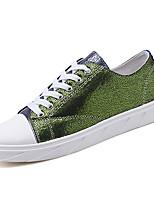 Недорогие -Муж. обувь Ткань / Полиуретан Весна / Осень Удобная обувь Кеды Красный / Черный / зеленый / Зеленый и синий