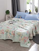 preiswerte -Gemütlich 1 Bettdecke, Handgefertigt Reaktivdruck Blumen Sommer