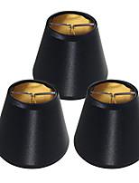 Недорогие -OYLYW 3шт 14cm Аксессуары для ламп Абажур Белье белый черный красный