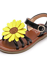 cheap -Girls' Shoes PU Summer Comfort Sandals for Casual Gold Black Pink
