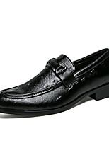 abordables -Homme Chaussures Tulle Automne Hiver Chaussures de plongée Mocassins et Chaussons+D6148 Boucle pour Décontracté Soirée & Evénement Blanc