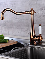 cheap -Bathroom Sink Faucet - Clawfoot Gold Centerset Single Handle One Hole