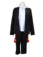 cheap -Inspired by Tokyo Ghoul Cosplay Anime Cosplay Costumes Cosplay Suits Other Long Sleeves Coat Shirt Pants For Unisex