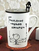abordables -Drinkware Porcelaine Tasse Girlfriend cadeaux Boyfriend cadeaux 1pcs