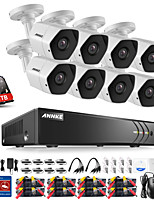 cheap -ANNKE® 8CH Security System DVR Kits with 3MP HD 1TB Hard Drive 8pcs CCTV Cameras