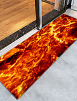 Недорогие -творческий Modern Коврики Коврики для ванны Фланелет, Высшее качество Прямоугольная Радужный Графика плед