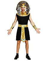 cheap -Egyptian Costume Outfits Unisex Halloween Carnival Day of the Dead April Fool's Day Masquerade Valentine's Day Birthday New Year