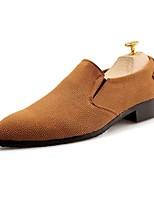 abordables -Homme Chaussures PU de microfibre synthétique Polyuréthane Similicuir Printemps Automne Confort Mocassins et Chaussons+D6148 pour