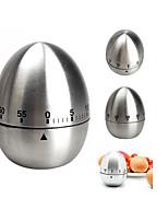 Недорогие -Кухонные принадлежности Нержавеющая сталь Творческая кухня Гаджет Kitchen Timer Для Egg 1шт