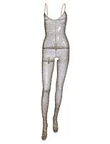 abordables -Body Vêtement de nuit Femme - Maille, Léopard