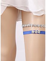 baratos -Renda Estilo Europeu Casamento Wedding Garter  -  Pedrarias Ligas Casamento Festa