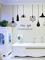 cheap -Wall Decal Decorative Wall Stickers - Plane Wall Stickers Shapes Re-Positionable Removable
