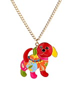 cheap -Men's Pendant Necklace  -  Dog, Animal Sweet Rainbow 65 cm Necklace For Ceremony, Carnival