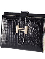 cheap -Women's Bags Genuine Leather / Leather Coin Purse Zipper for Event / Party Black / Red / Purple