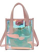 preiswerte -Damen Taschen PVC / PU Bag Set 2 Stück Geldbörse Set Knöpfe für Veranstaltung / Fest Schwarz / Regenbogen