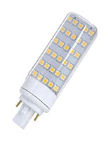 cheap -SENCART 1pc 5.5W 580-650lm G24 LED Bi-pin Lights T 30 LED Beads SMD 5050 Decorative Warm White White 12V 85-265V