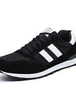 Недорогие -Муж. обувь Тюль Весна / Осень Удобная обувь Кеды Черный / Серый / Красный