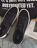 Недорогие -Муж. / Универсальные обувь Полотно Весна / Осень Удобная обувь Кеды Черный