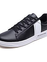 Недорогие -Муж. обувь Искусственное волокно Весна / Осень Удобная обувь Кеды Белый / Черный / Красный