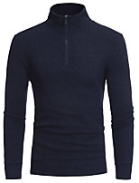 cheap -Men's Street chic Pullover - Solid Colored