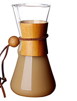 cheap -1pc Glasses Coffee Kettle Cute Heatproof Creative ,  12.2*23.5cm