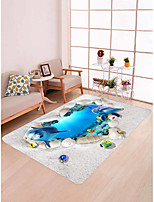 cheap -Doormats / Area Rugs / Bath Mats Modern Flannelette, Rectangle Superior Quality Rug
