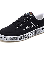 cheap -Men's Shoes Canvas Spring Fall Light Soles Sneakers for Casual Gray Black/White Black/Red