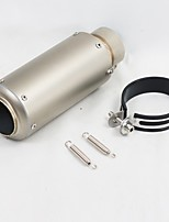 cheap -C18-D18 60mm Stainless steel Exhaust Mufflers For Motorcycles Universal