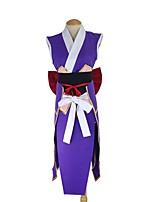 abordables -Inspiré par Fairy Tail Erza Scarlet Manga Costumes de Cosplay Costumes Cosplay Autre Sans Manches Ceinture Nœud papillon Plus