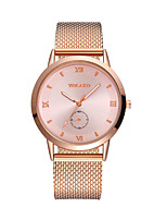 cheap -Men's Women's Quartz Fashion Watch Chinese Casual Watch Plastic Band Colorful Black Silver Gold Rose Gold