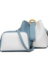 cheap -Women's Bags PU Bag Set 2 Pieces Purse Set Zipper for Casual Blue / Black / Khaki