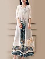preiswerte -Damen Bluse - Blumen Hose