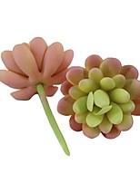 preiswerte -Künstliche Blumen 1 Ast Pastoralen Stil Sukkulenten Tisch-Blumen