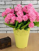 Недорогие -Искусственные Цветы 1 Филиал Простой стиль / Пастораль Стиль Гортензии Букеты на стол
