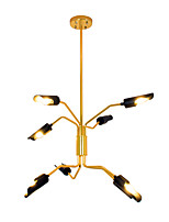 cheap -ZHISHU Chandelier Ambient Light - Adjustable, Nature Inspired Chic & Modern, 110-120V 220-240V Bulb Included