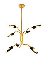 preiswerte -ZHISHU Kronleuchter Raumbeleuchtung - Verstellbar, Natur inspirierter Stil Schick & Modern, 110-120V 220-240V Inklusive Glühbirne