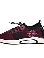 cheap -Men's Shoes Knit Spring / Summer Novelty Sneakers Black / Red