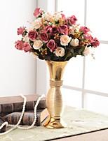 cheap -Artificial Flowers 0 Branch Luxury / European Vase Tabletop Flower