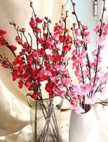 abordables -Fleurs artificielles 1 Une succursale Style moderne Prune Fleur de Table